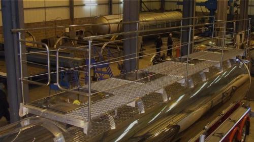 Tanker handrails